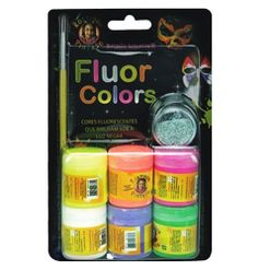 KIT-CORES-FLUORESCENTES-15ML-ROSTINHO-PINTADO---------------------------------------------------------------------------